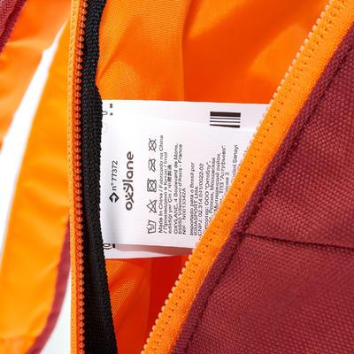 Sac à dos de randonnée Arpenaz 10L bordeaux/orange