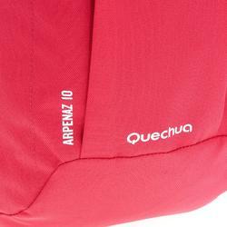Mochila de Montaña y Senderismo Quechua NH100 10 Litros Rosa