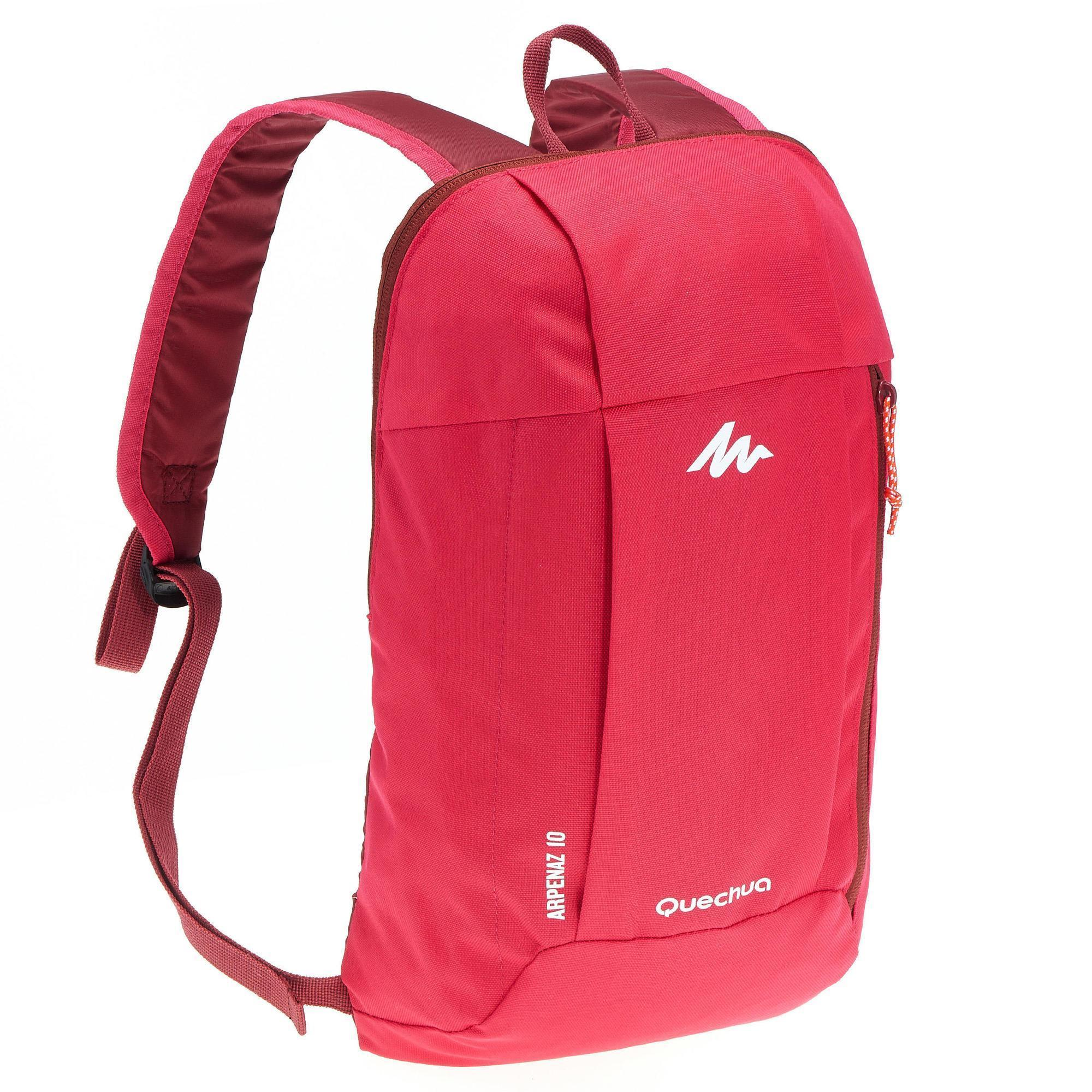 Nh100 10l 10l Hiking Backpack Pink Quechua
