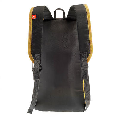 sac à dos de randonnée pour la journée Arpenaz 10L jaune/gris
