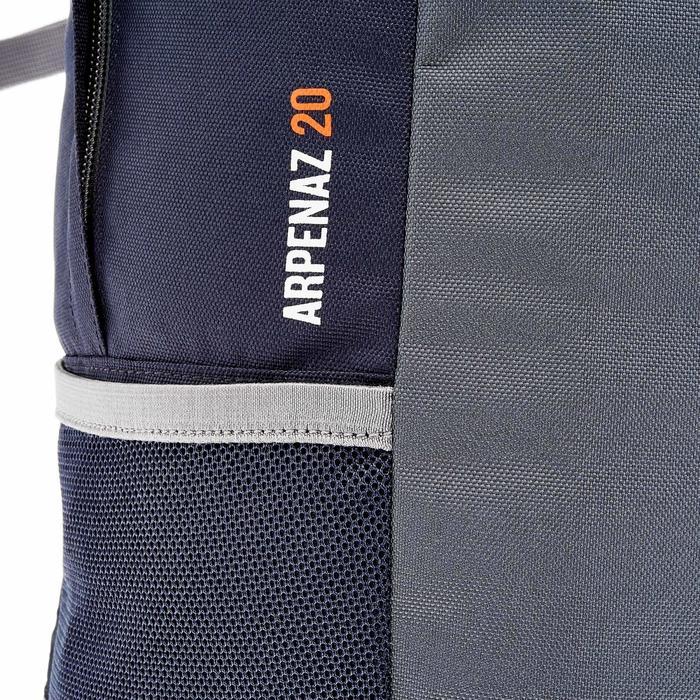 Wanderrucksack NH100 20 Liter schwarz/grau