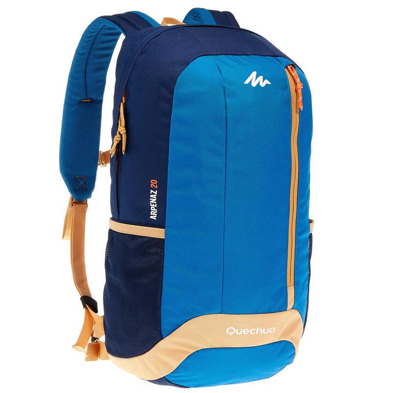 439a712d68f8 HIKING BACKPACK 20 Litre NH100 - BEIGE BLUE