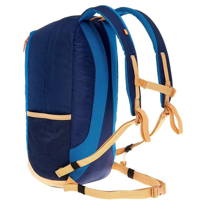 HIKING BACKPACK 20 Litre NH100 - BEIGE/BLUE