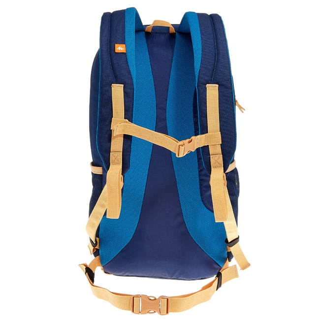 HIKING BAG 20 Litre NH100 - BEIGE/BLUE