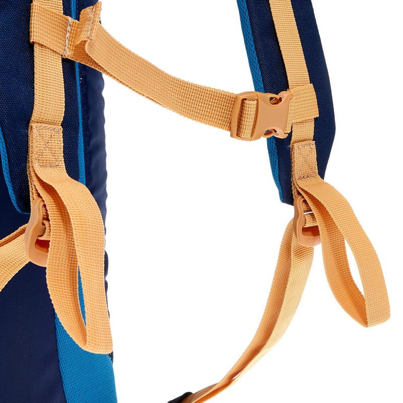 HIKING BAG 20 Litre NH100 - BEIGE/BLUE