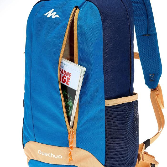 Wanderrucksack NH100 20 Liter blau/beige