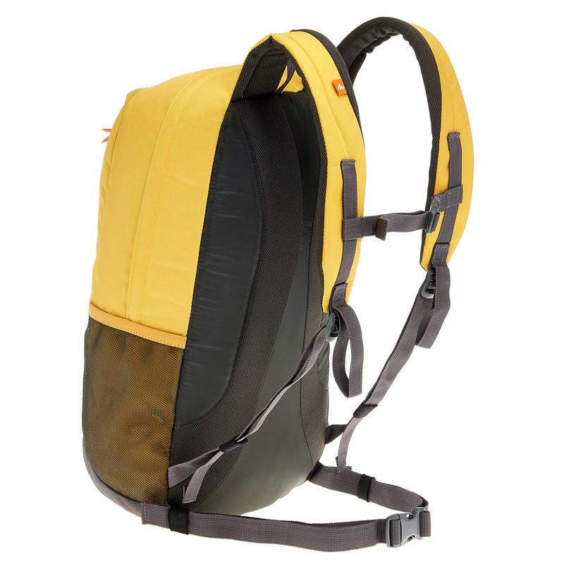 HIKING BAG 20 Litre NH100 - YELLOW/GREY