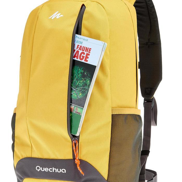 Wanderrucksack NH100 20 Liter gelb/grau