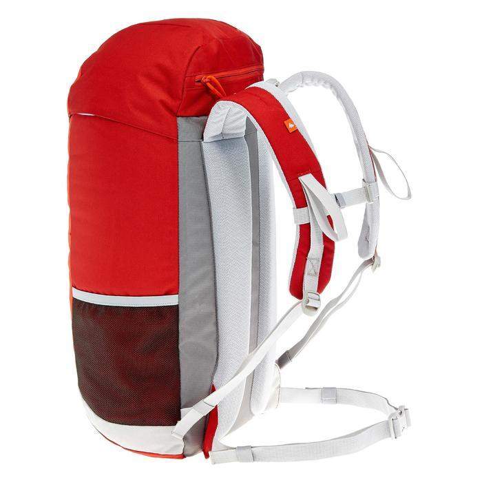 Wandelrugzak NH100 30 liter rood grijs