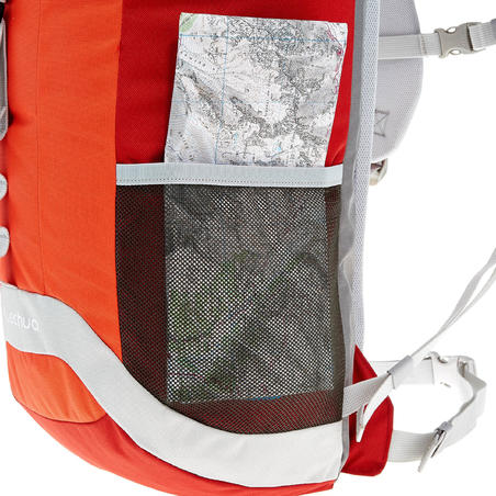 HIKING BACKPACK 30L NH100 - RED/GREY
