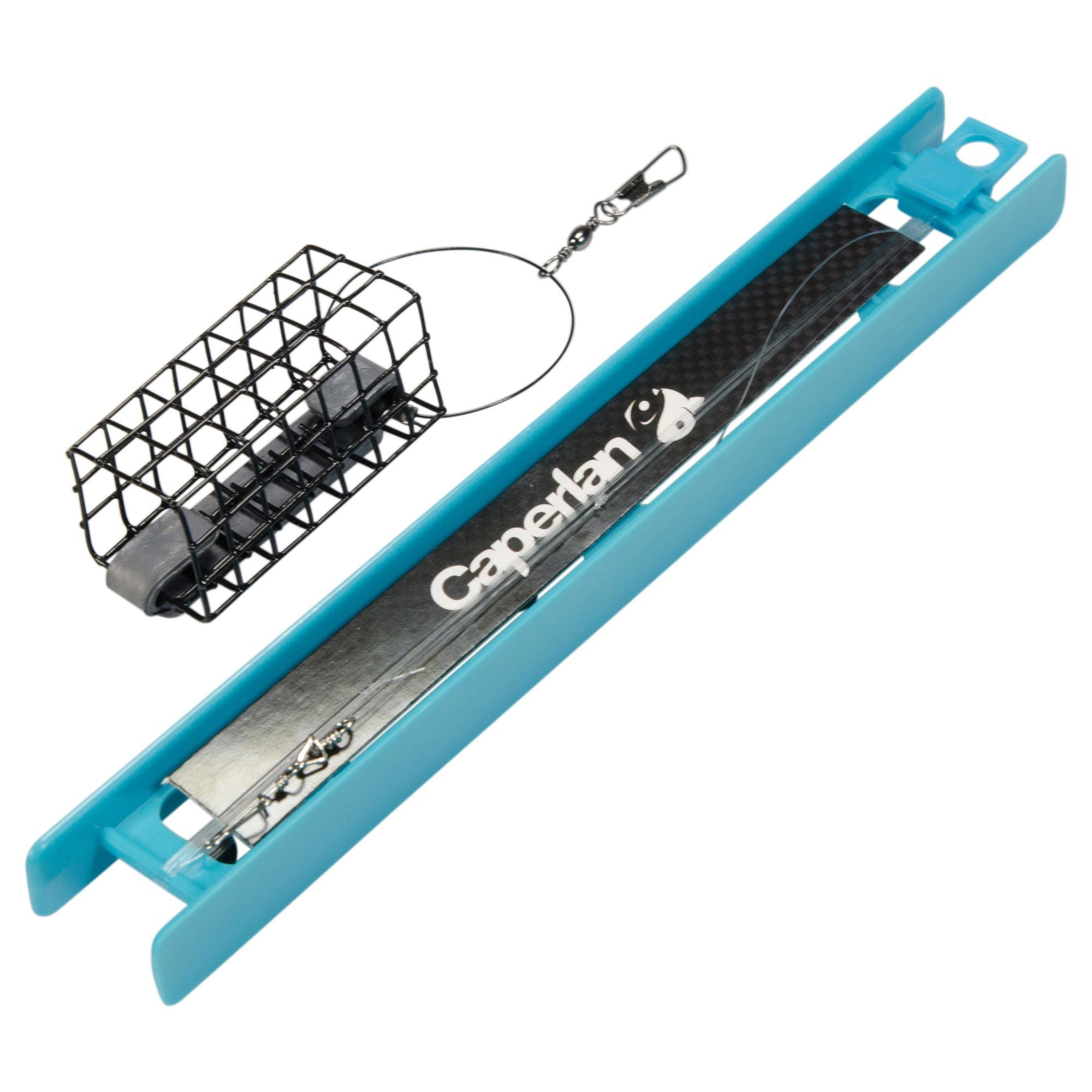 Caperlan gemonteerde lijn feederhengelen rl symply feeder square 20 g