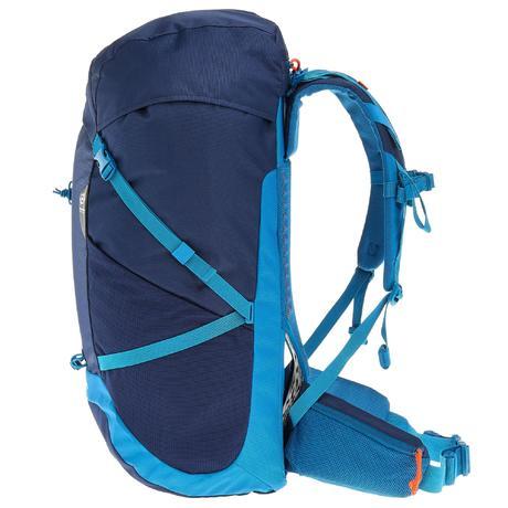 rucksack forclaz 40 air 40 liter damen dunkelblau blau. Black Bedroom Furniture Sets. Home Design Ideas