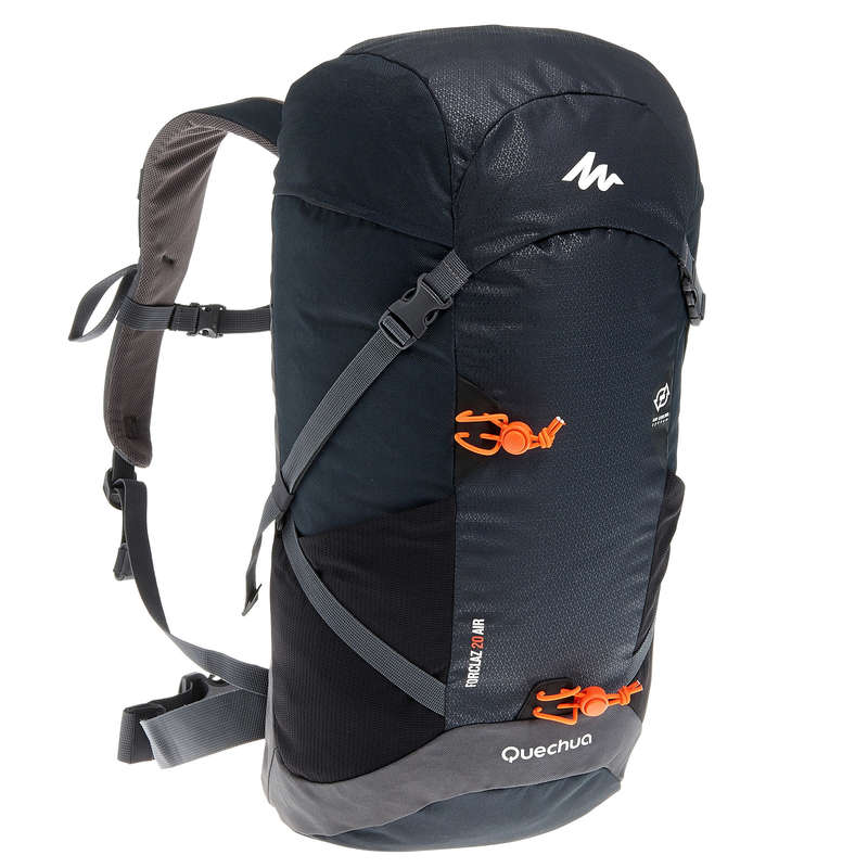 20L TO 40L MOUNTAIN HIKING BACKPACKS - Forclaz 20L Air Hiking Backpack - Black QUECHUA