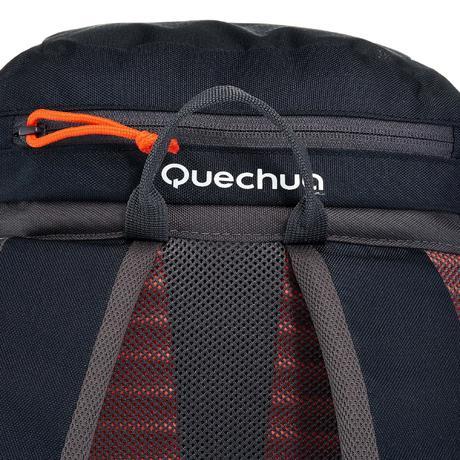 sac a dos forclaz 20 litres noir quechua. Black Bedroom Furniture Sets. Home Design Ideas