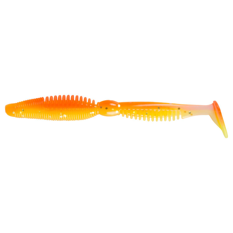 "Iwaki 4""5 Soft Freshwater Lure - Red Chart"