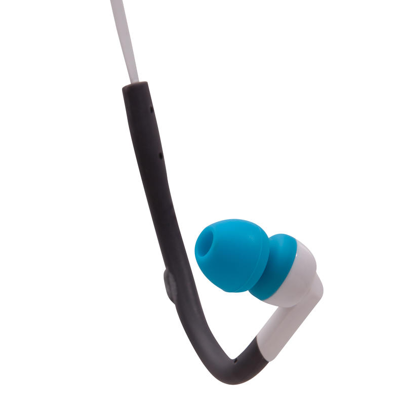 Ecouteurs sport intra-auriculaires ONEAR HOOK 2 gris & bleu