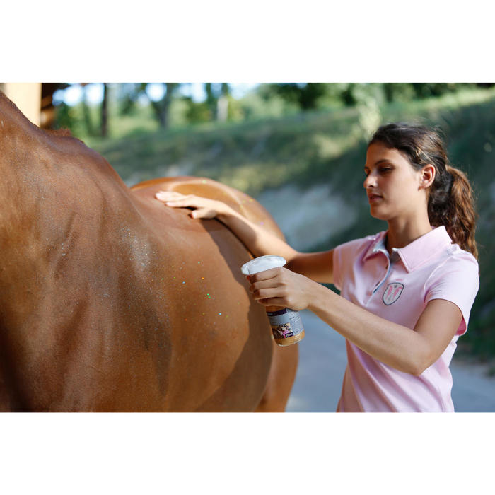 Loción Con Purpurina Equitación Fouganza Caballo y Poni 250 Ml