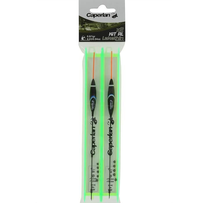 Posenmontage-Set RL Lakethin, Größen 18 und 20, 2 Stück