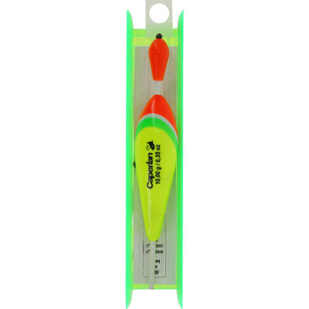 TOUCHY FLOAT H4 10 g predator fishing rigged line