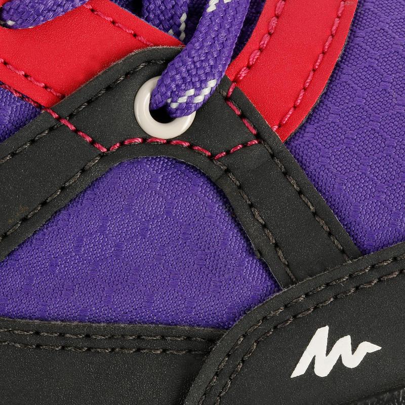 Chaussure Randonnée Enfant Arpenaz 50 Imperméable Violette