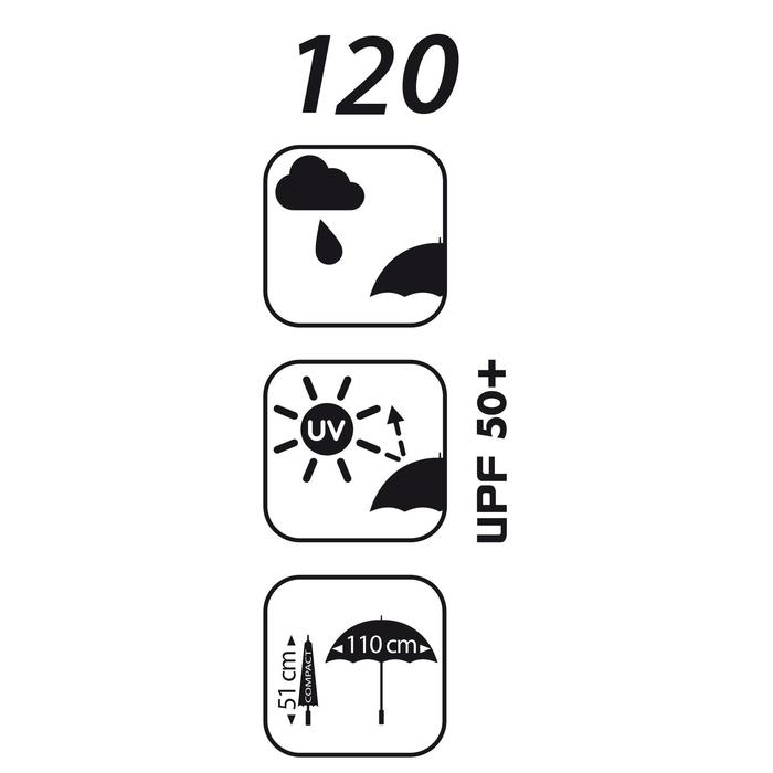 PARAPLUIE Golf 120 UV - 44324