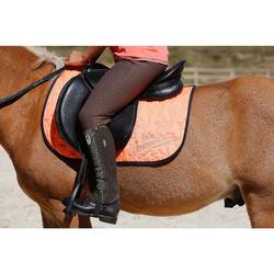 Polainas equitación niños SCHOOLING FUELLE marrón