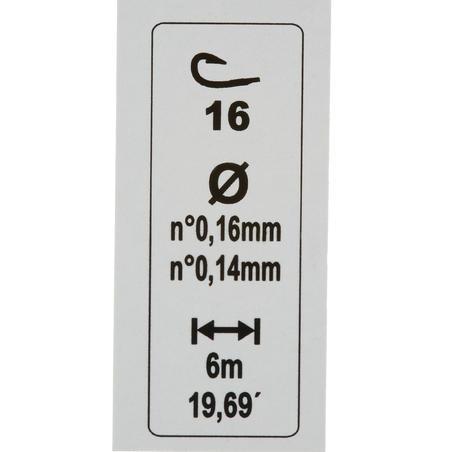 """Pludiņmakšķerēšanas komplekts """"RL Lakesee H16/18"""", 0,4/0,6 g"""
