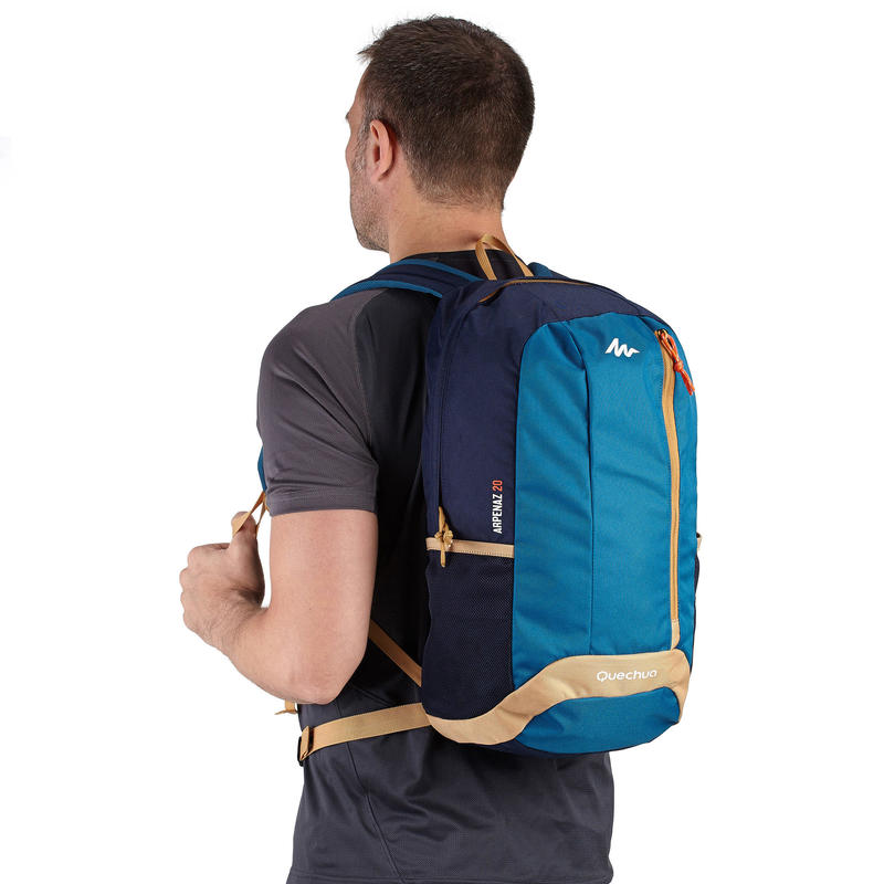 NH100 20-L HIKING BACKPACK – BEIGE/BLUE