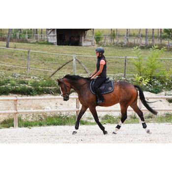 Boots équitation enfant et adulte SCHOOLING 100 noir - 443415