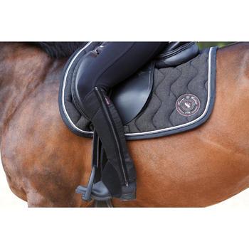 Boots équitation enfant et adulte SCHOOLING 100 noir - 443419