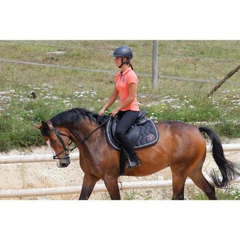 Botines de equitación niños y adultos SCHOOLING 100 negro