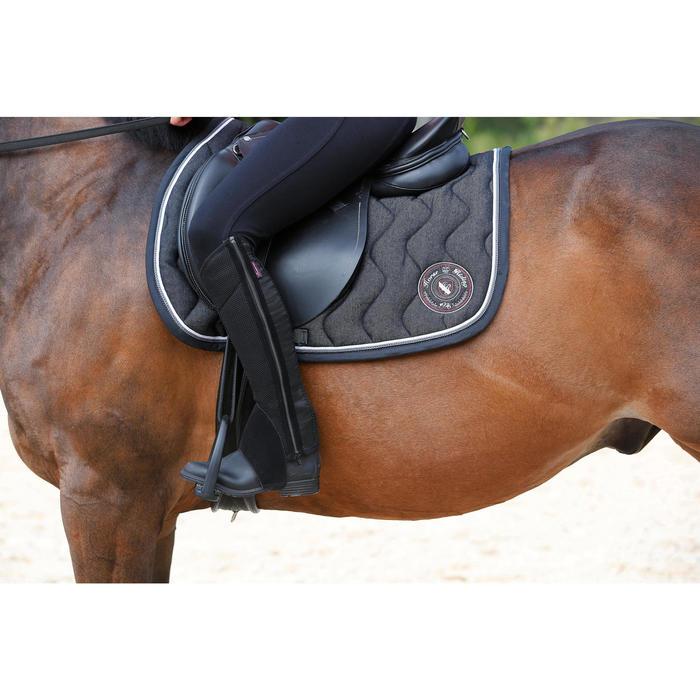 Boots équitation enfant et adulte SCHOOLING 100 noir - 443424