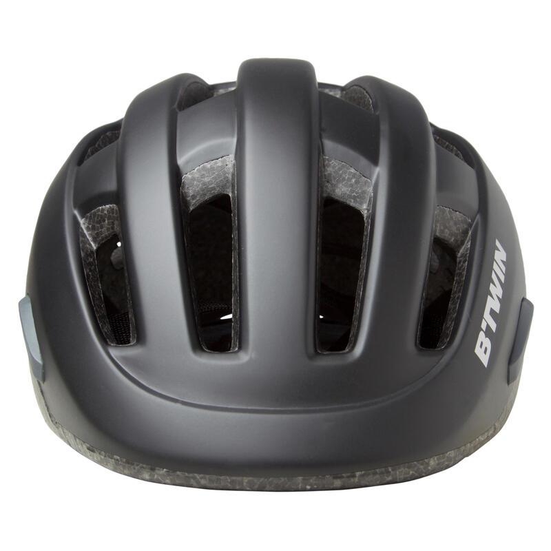 City Cycling Bike Helmet 500 - Black