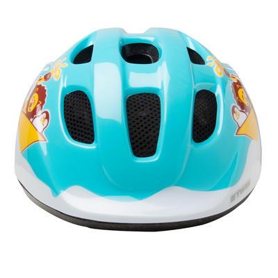 خوذة ركوب دراجات للأطفال 300 - أزرق فاتح