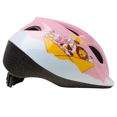 Дитячий велосипедний шолом 300 - Рожевий