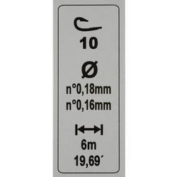 Posenmontage-Set RL Multi Stabyly Comp, Hakengröße 10