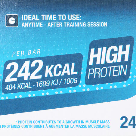 Muscle Growth Protein Bar 4 x 60 g - Chocolate/Praline