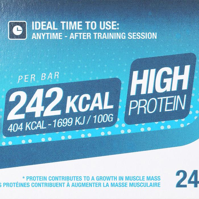 Barre de protéines MUSCLE GROWTH chocolat pralin 4X60g - 44502