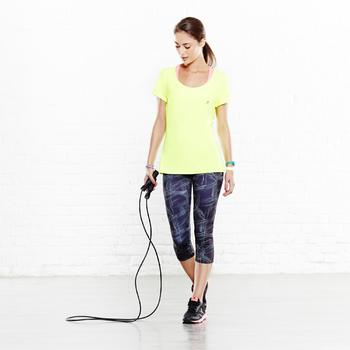 T-shirt ENERGY fitness femme noir