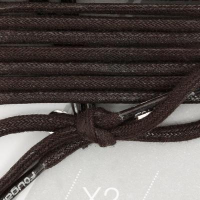 Cordones para botines de equitación negro