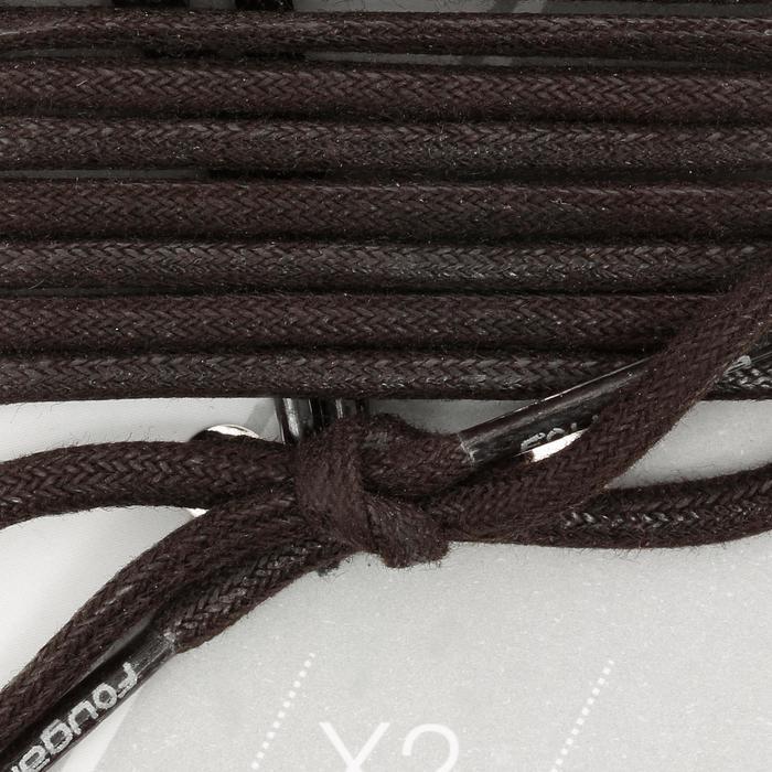 Cordones para botines de equitación negros
