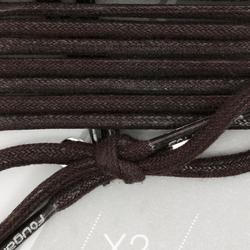 Cordones para botines equitación marrón