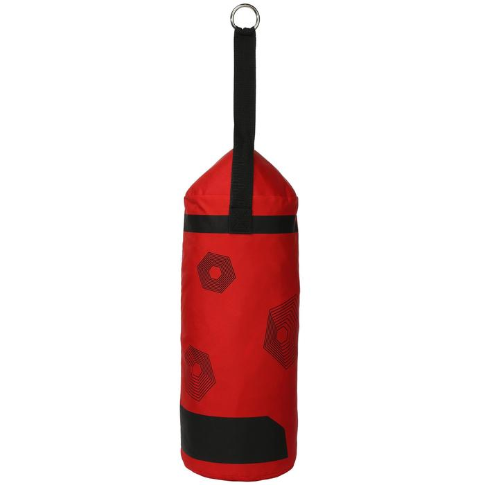Kit initiation Boxe Enfant : Sac rouge + gants noirs - 44530