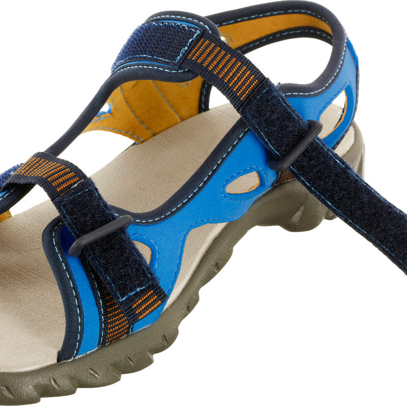 รองเท้าแตะเดินป่าสำหรับเด็กรุ่น Arpenaz 50 (สีน้ำเงิน)