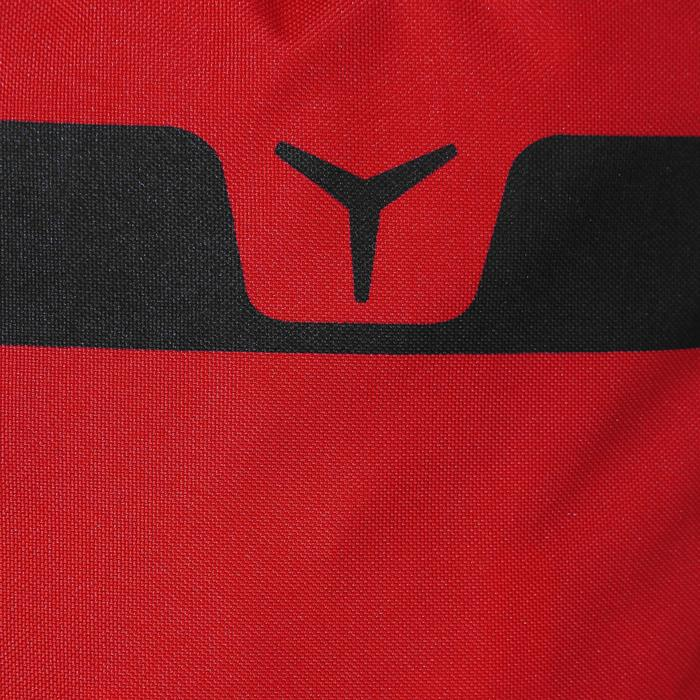 Initiatie boksset voor kinderen: rode bokszak + zwarte handschoenen