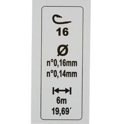 Gemonteerde lijn voor aashengels RL Pole Lakeshow 1 g H18 - 445360