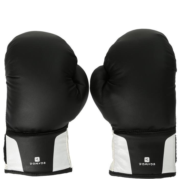 Kit initiation Boxe Enfant : Sac rouge + gants noirs - 44537