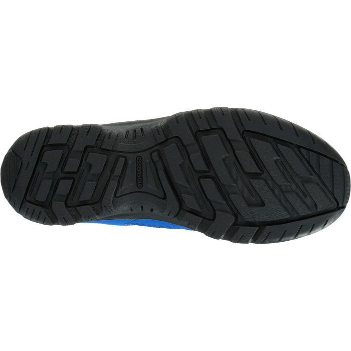 Giày leo núi dã ngoại Arpenaz 50 cho trẻ em - Xanh