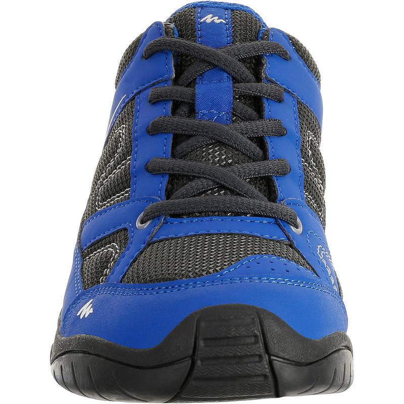 Arpenaz 50 Children's Hiking Shoes blue laces