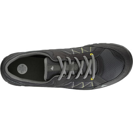 Arpenaz 50 Men's Hiking Boots - Black